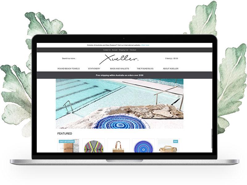 xueller-website-by-zel-designs-central-coast-web-design